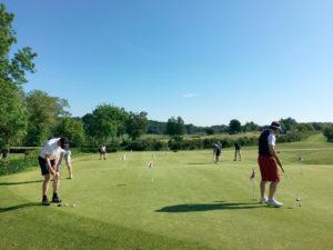 Værløse Golfklub puttinggreen